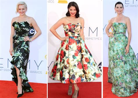 Emmys Fashion Goes White And Blue by Blue Yellow Fashion Trends At The Emmys Lifestyle