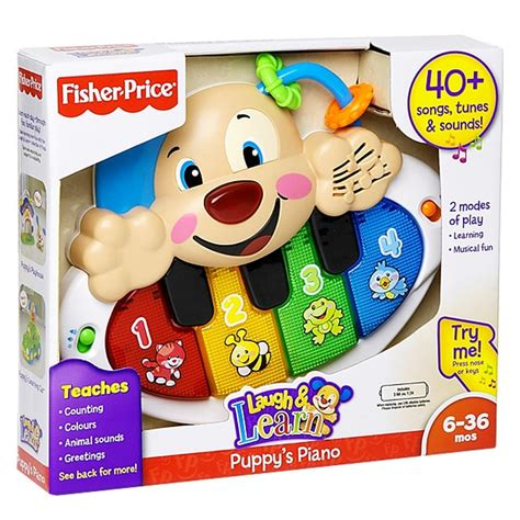 fisher price puppy piano fisher price laugh learn puppy s piano target australia