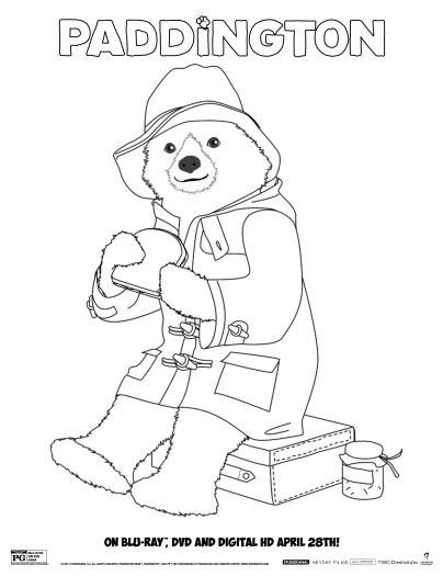 8 free paddington bear printables