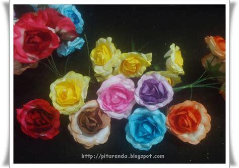 Bunga Mawar Artificial 41 Cm Kuning bunga plastik artificial flower pitarenda