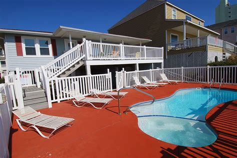 myrtle beach house rentals with pool oceanfront cherry palms oceanfront pool house hot tub north myrtle beach rental property