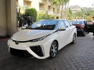 2016 Toyota Vehicles 2016 Toyota Mirai Hydrogen Fuel Cell Car Newport