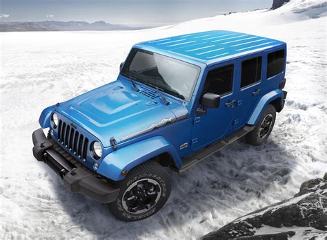 jeep arctic jeep wrangler polar edition arrives just in time for winter