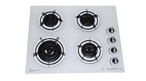 goldline gas cooktop buy goldline 600mm gl704 4 zone gas glass cooktop