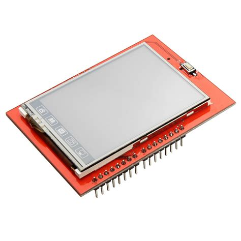 Lcd Display Tft Touch Screen 2 4 Inch For Arduino Uno Ai22 display lcd tft 2 4 quot touchscreen shield para arduino filipeflop