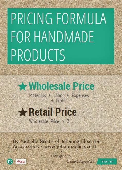 Handmade Jewelry Pricing Formula - 1000 images about craftiness on clay