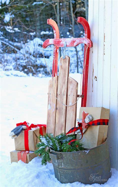 how to decorate sled diy 10 vintage sled fynes designs fynes designs