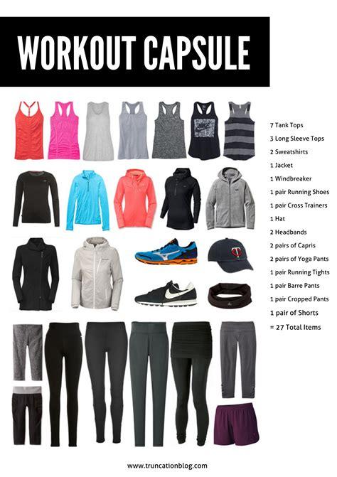 Exercise Wardrobe by Truncation Fall 2015 Workout Capsule Wardrobe Truncation