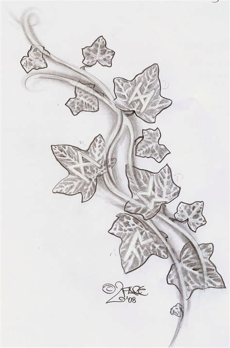 vine leaf tattoo designs 24 awesome vine designs