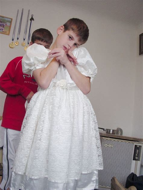 boy in a dress punishment sissy lulu