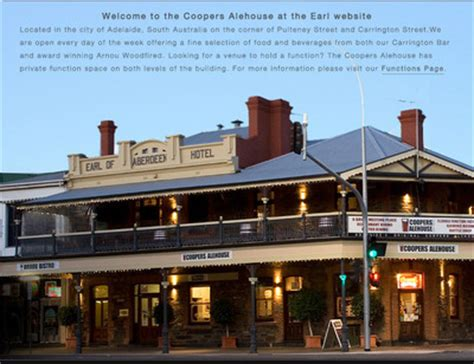 coopers ale house where to have dinner for under 20 adelaide