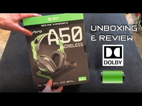 astro a50 wireless gaming headset review and unboxing astro a50 wireless gaming headset for xbox one and pc