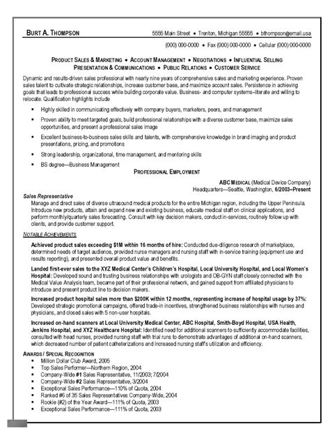 maintenance resume exles outside sales representative resume exles maintenance