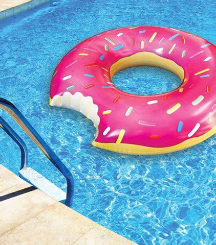 luchtbed pizzapunt 10 x grappige luchtbedden voor in het zwembad