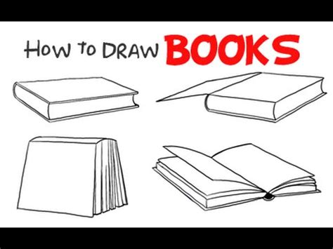 L Drawing Book by Drawing How To Draw Books 4 Styles Perspectives
