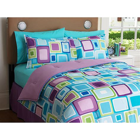 what is a sham in a comforter set your zone reversible comforter and sham set walmart
