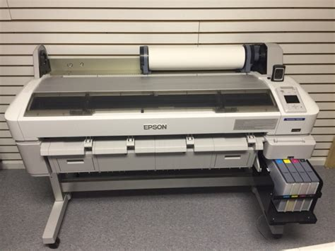 Printer Epson F6070 almost new epson surecolor f6070 sublimation printer