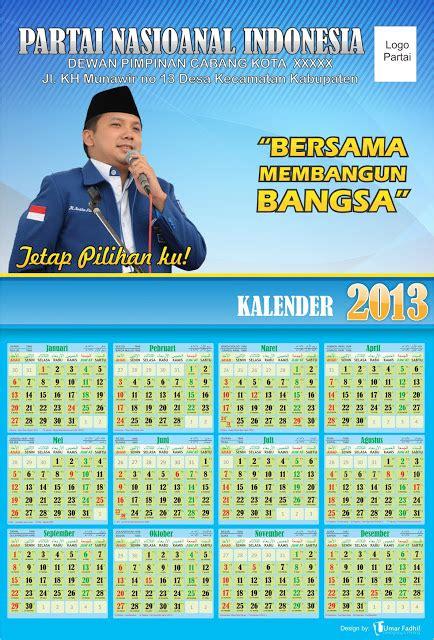 desain kalender kantor template kalender partai 2013siap pakai download