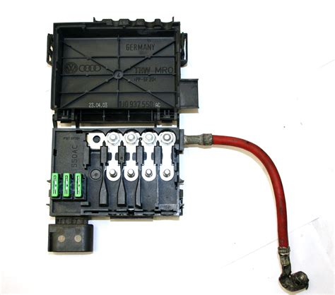 Used Genuine Vw Vw Vw Fuse Box On Top Of Battery 4 Wire