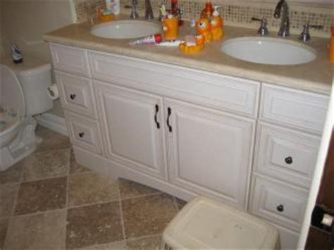 how to reface a bathtub cabinet refacing bathroom remodel countertops pictures and