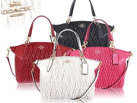 Coach Gathered Leather Kelsey Classic Tas Coach Original import collection rakuten global market coach coach bag