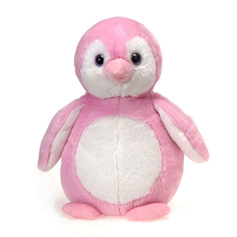 Pink Penguin stuffed pink penguin 16 inch stuffed safari