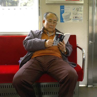 picture japanese was reading a book on the