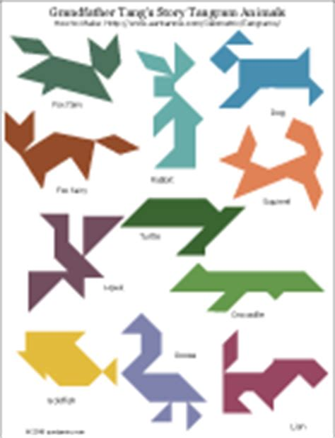 printable tangoes puzzle cards how to make tangram puzzles geometric toys to make
