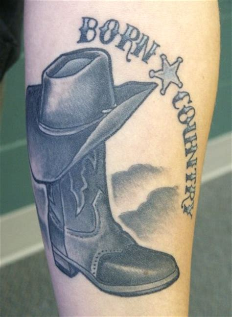 cowboy boot tattoo cowboy boot tattoos