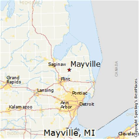 best places to live in mayville, michigan
