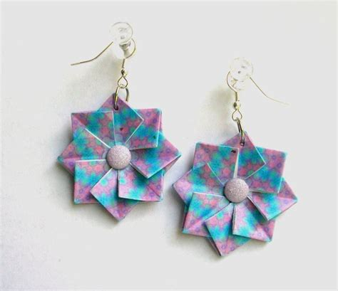Origami Jewelry Book - 17 best images about paper jewellery on paper