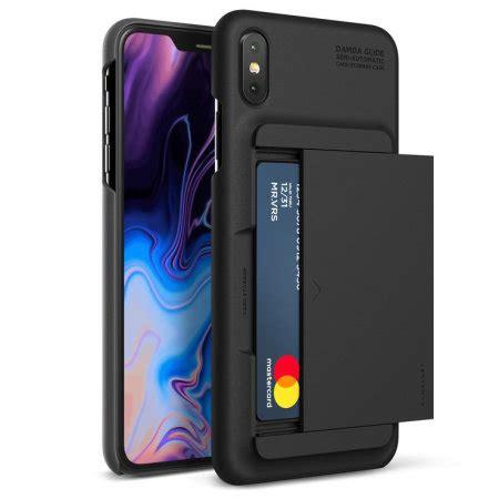 vrs design damda glide iphone xs max case charcoal black
