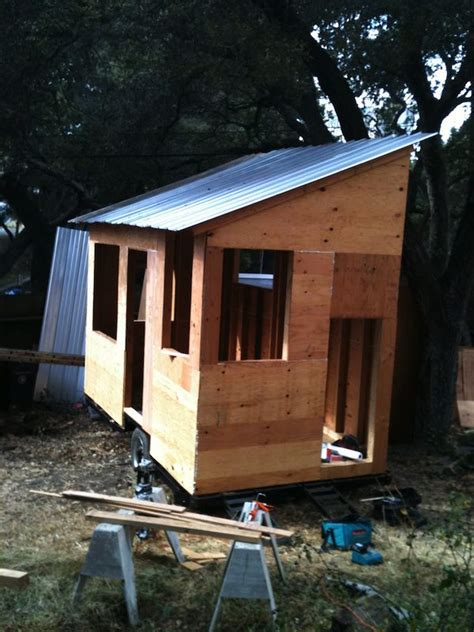 tiny house project diy tiny house on a trailer for 5 500
