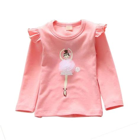 Blouse Vaby baby ruffled sleeve t shirt cotton tops fashion blouse 2 7y ebay