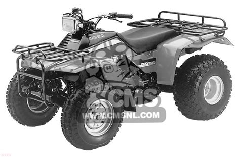 wiring diagram for 1984 trx 200 get free image about