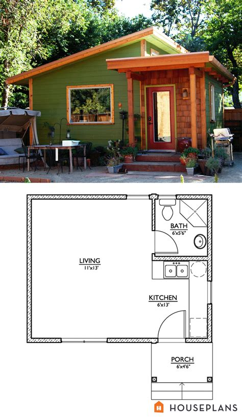 tiny house plans modern modern style house plan studio 1 baths 320 sq ft plan