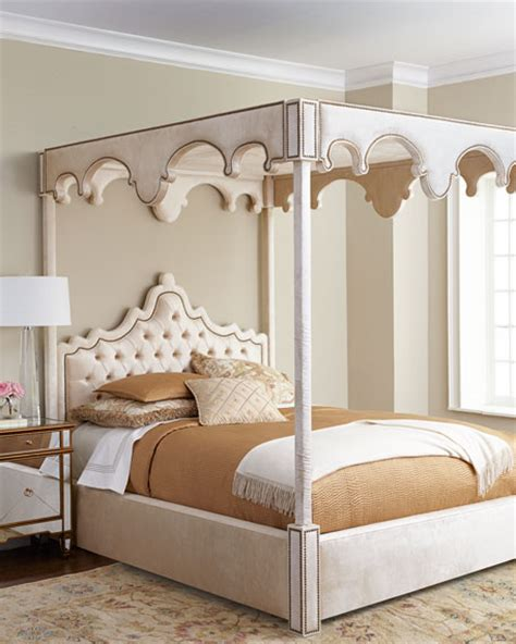 horchow headboards haute house william canopy bed