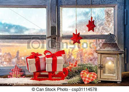 Weihnachtsdeko Fensterbank Englisch by Dekoration Atmosph 228 Risch Fensterbank Weihnachten