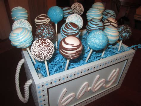 Boy Baby Shower Cake Pops by Baby Shower Cakes Baby Shower Boy Cake Pops