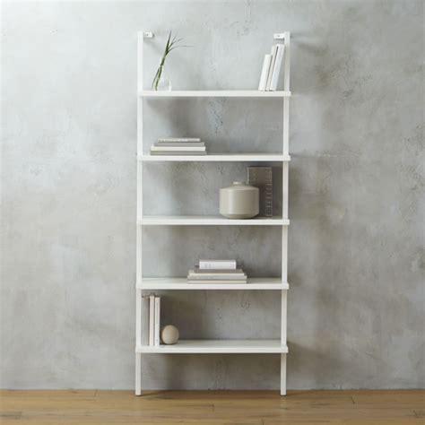 Stairway White Wall Mounted Bookshelf In Bookcases White Wall Mounted Bookcase