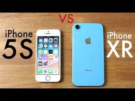 iphone xr vs iphone 5s speed comparison review