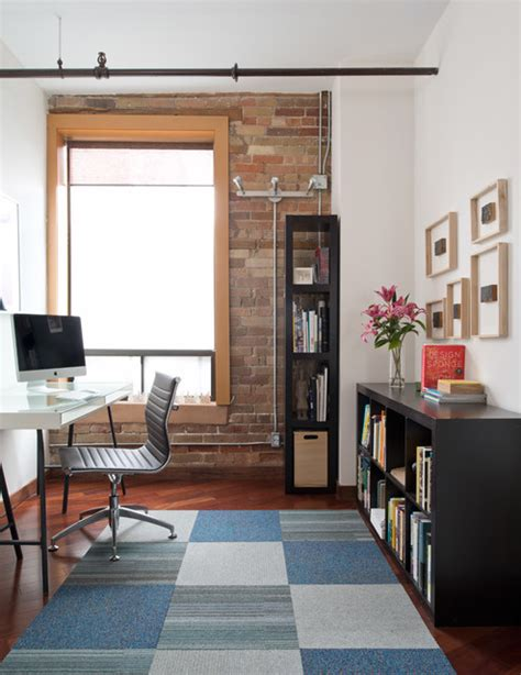 home loft office boilers loft industrial home office toronto by