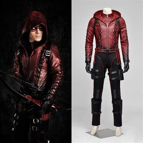 Jaket Silver Arsenal new arrow roy arsenal costume set ebay