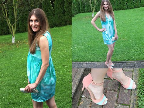 Alona Dress Lavender Flh alona k sandals and turquoise dress lookbook
