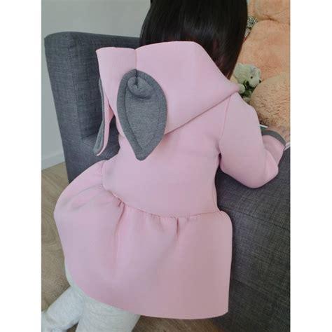 New Jaket Hoodie Rabbit Kid Murah baby rabbit ear hoodie sleeve hooded