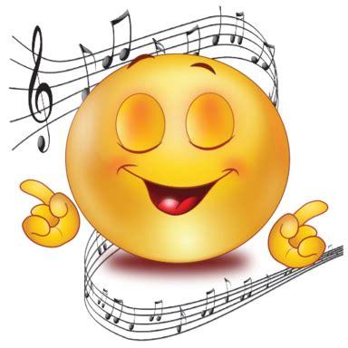 party singing music emoji