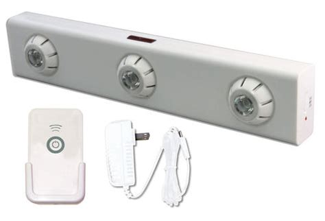 led high output white cabinet light with remote at