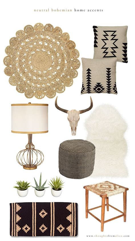 Home Accent Decor Accessories by 25 Best Ideas About Boho Glam Home On