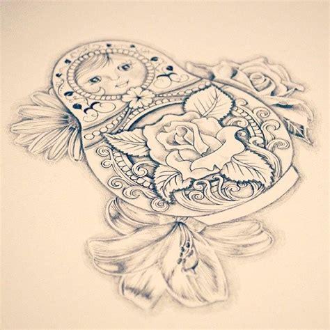 babushka doll tattoo designs 238 best matryoshka images on matryoshka doll