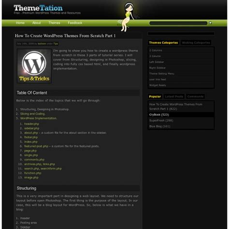 how to create wordpress themes from scratch part 1 how to create wordpress themes from scratch part 1